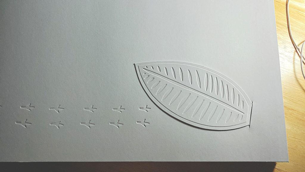 ゆきのひ葉っぱ