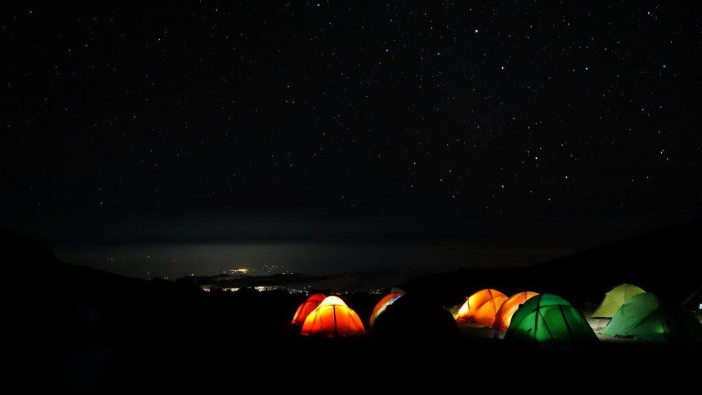 流星群キャンプ